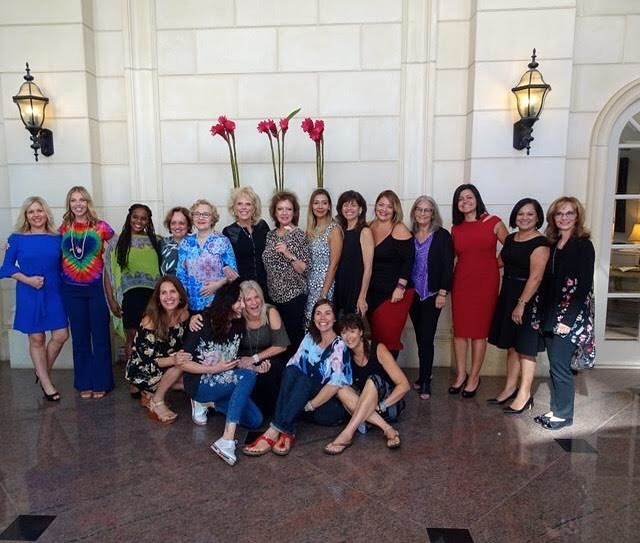 Group of women who have completed Heal Your Life Training.